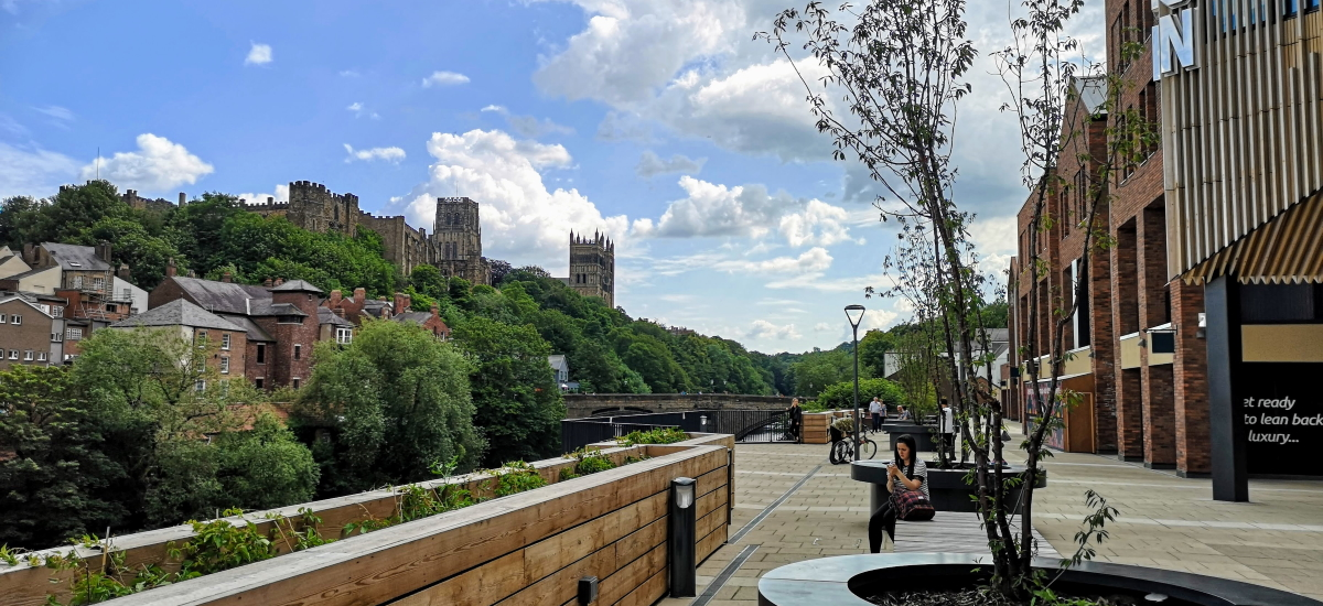 The Riverwalk, Durham. Photograph by Graham Soult