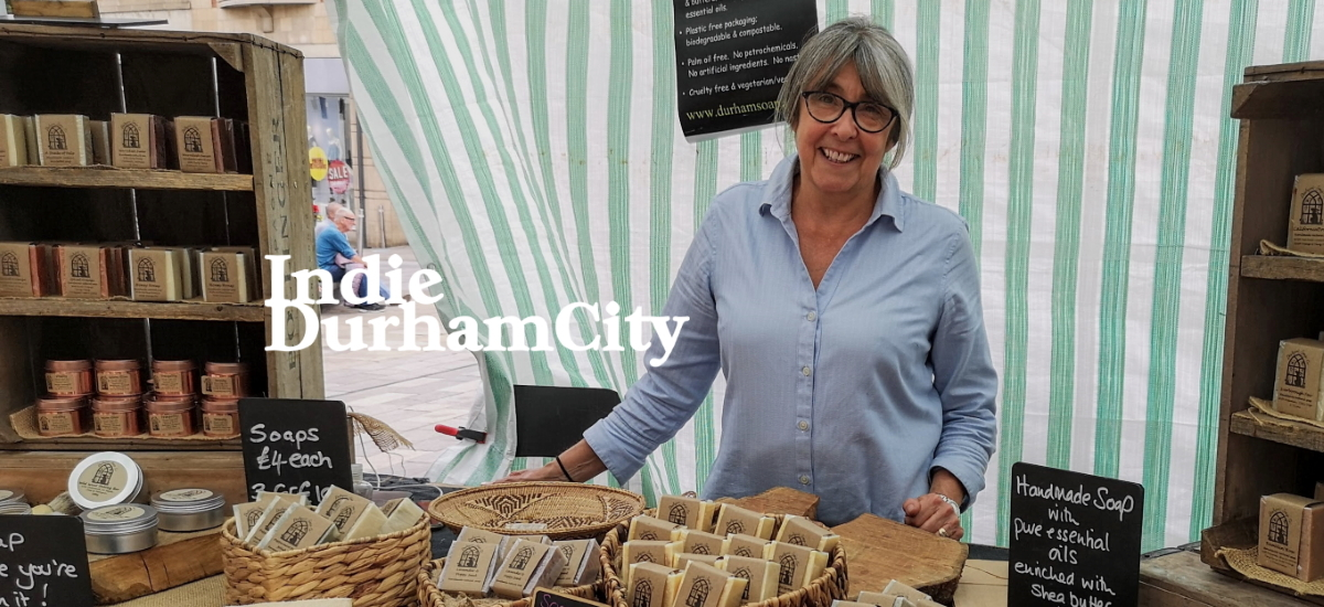 Julie from the Durham Soap Company