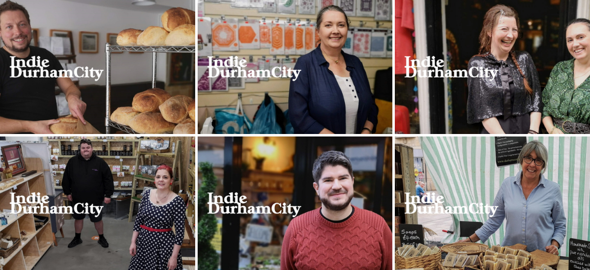 "Some of our Indie Durham City ""cover stars"" so far"