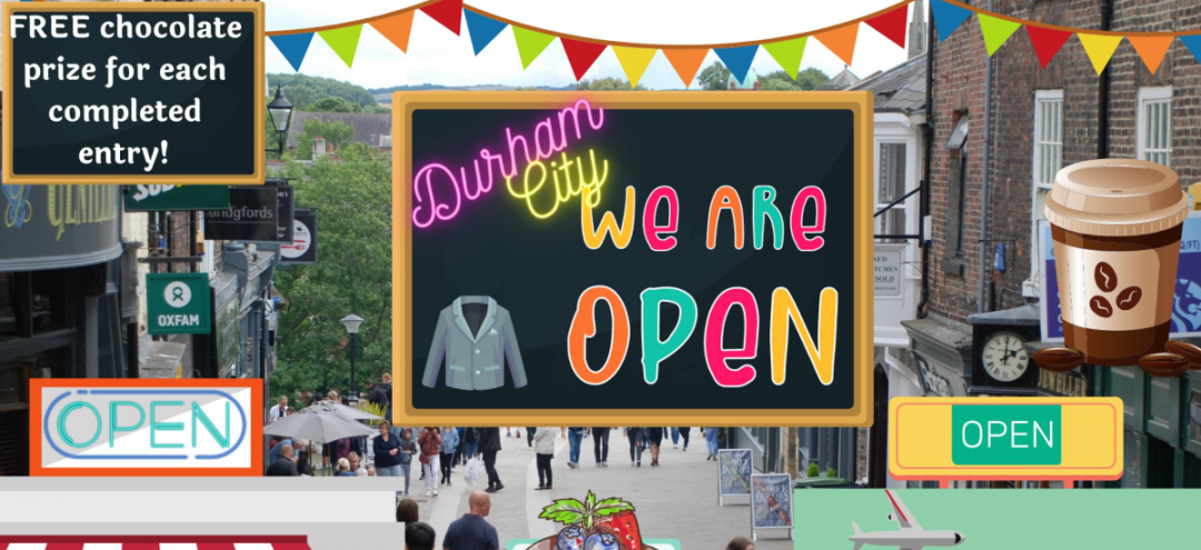 Can you solve the clues and find the treasure in Durham's Treasure Trail?